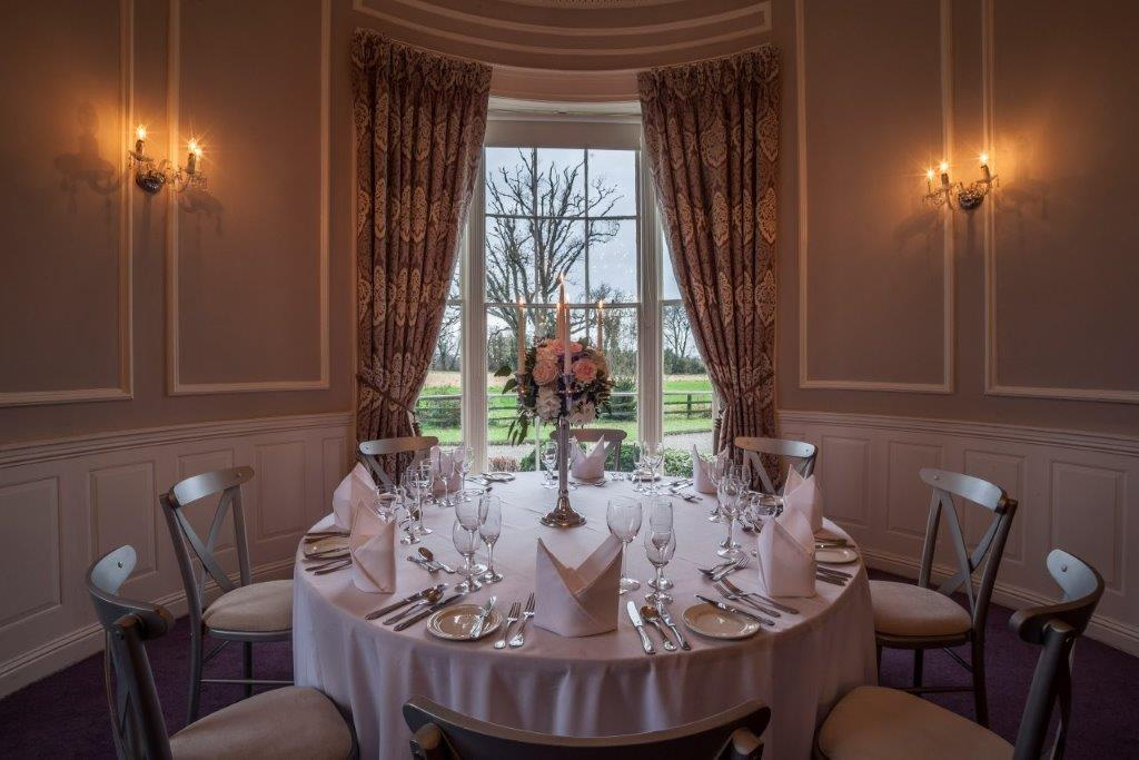The Dining Room at Leixlip Manor Hotel